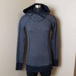 Lululemon Hooded Tweed Running Pullover